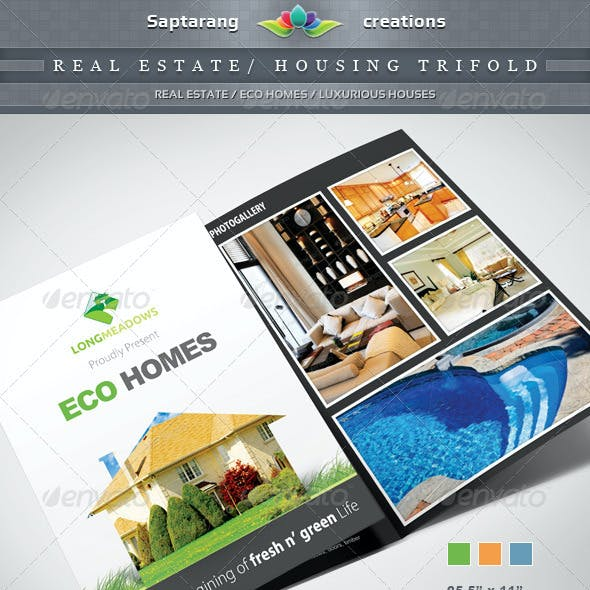 Real Estate / Housing Trifold