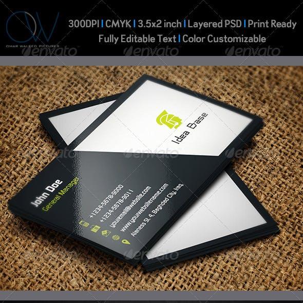 Classic Business Card v2