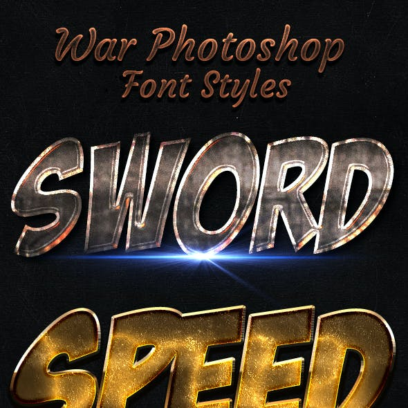 War Font Style