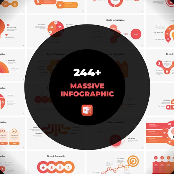 Massive Infographics - Fully Animated PowerPoint template
