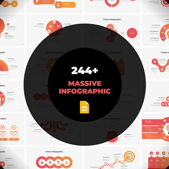 Massive Infographics - Fully Animated Google Slides template