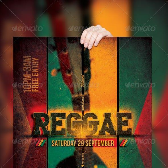 Reggae Poster / Flyer Template v.2
