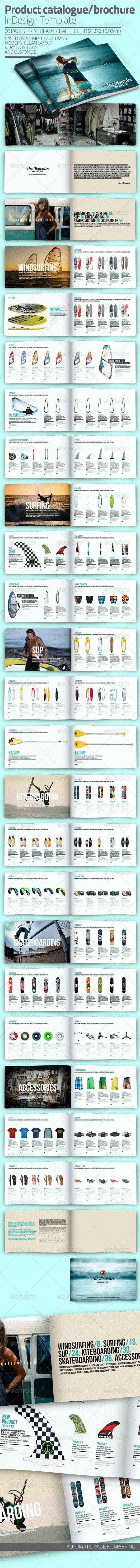 InDesign Catalogue Template - Catalogs Brochures