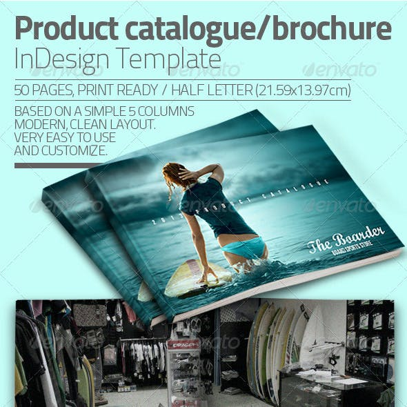 InDesign Catalogue Template