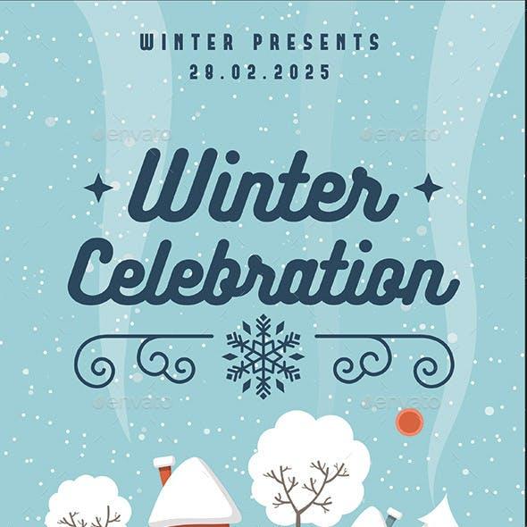 Winter Celebration Flyer