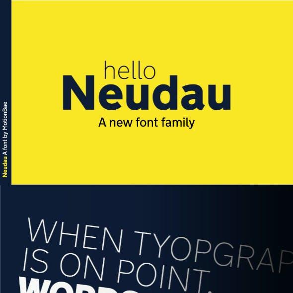Neudau Sans Serif Font