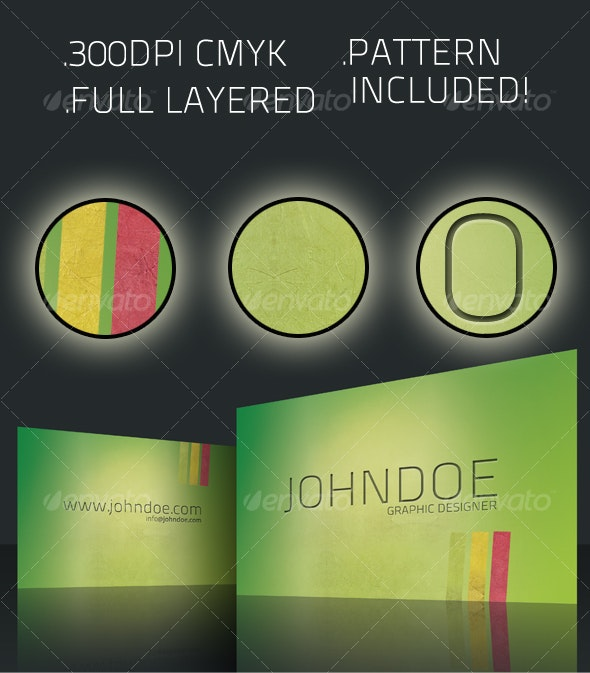 Green Vision Business Card - Creative Business Cards