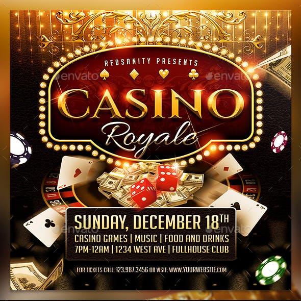 Casino Royale Flyer