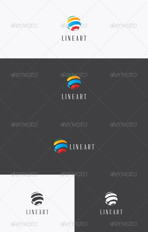 LineArt Logo - Vector Abstract