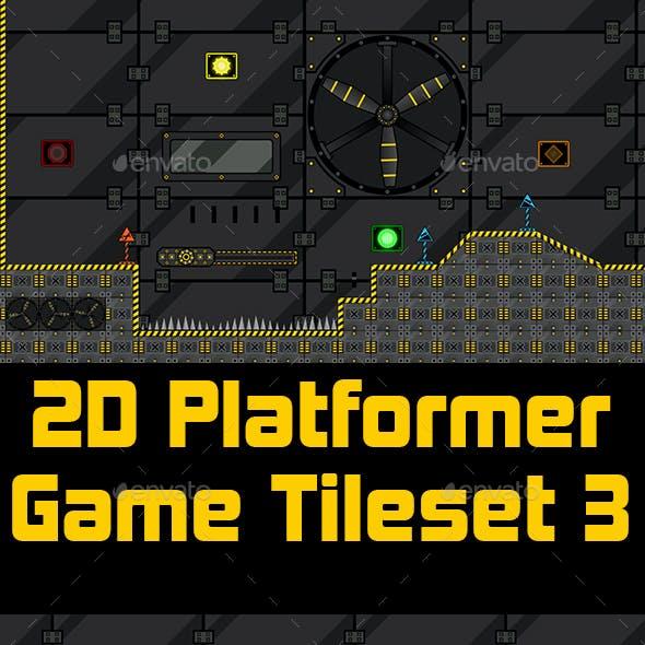 2D Platformer Game Tileset 3