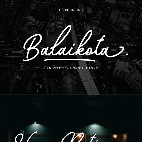 Balaikota - Handwritten Script