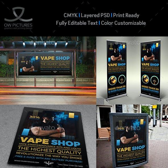 Vape Shop Advertising Bundle