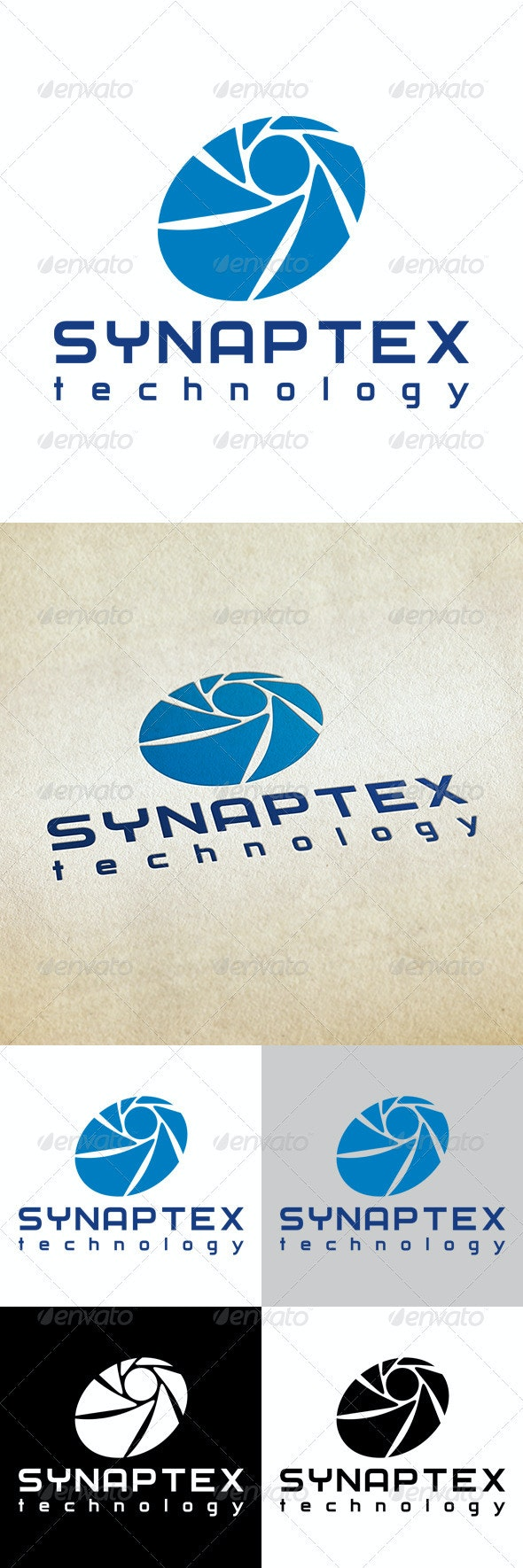 Synaptex Technology - Abstract Logo Templates