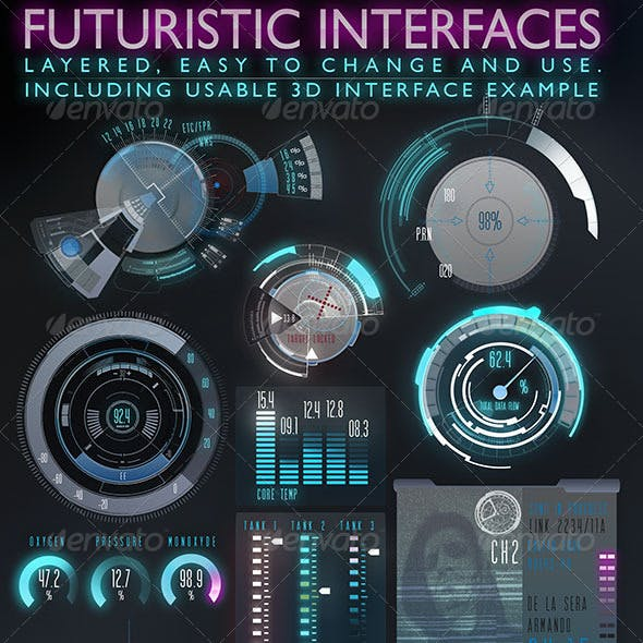 Futuristic Interface (HUD)