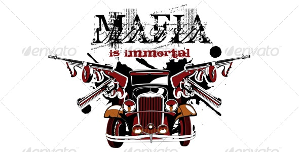 Mafia is immortal - Backgrounds Decorative