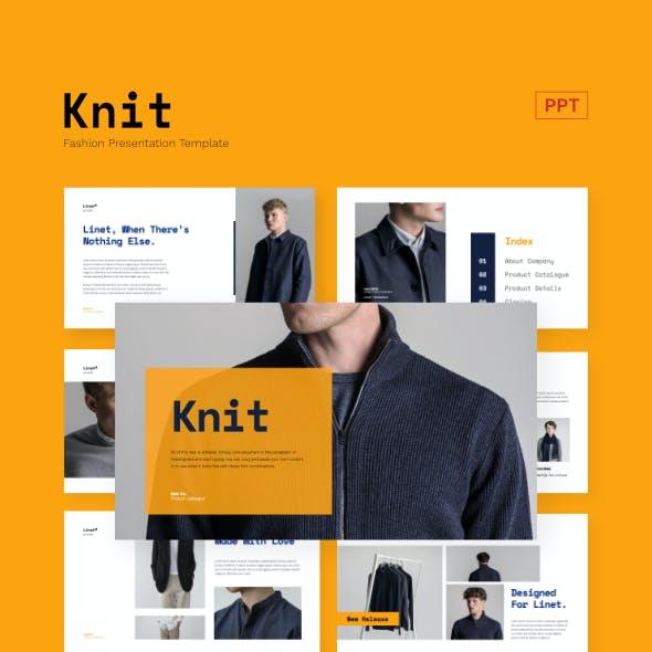 Knit - Fashion Business Presentation Powerpoint