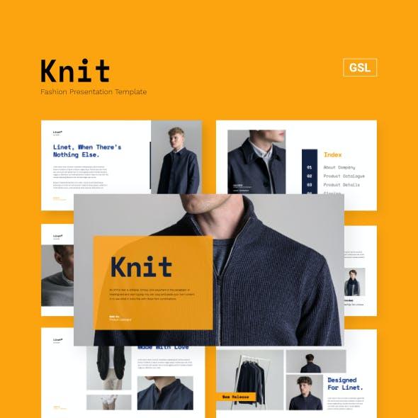 Knit - Fashion Business Presentation Google Slides