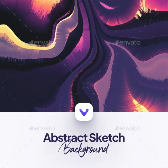 Abstract Sketch Background