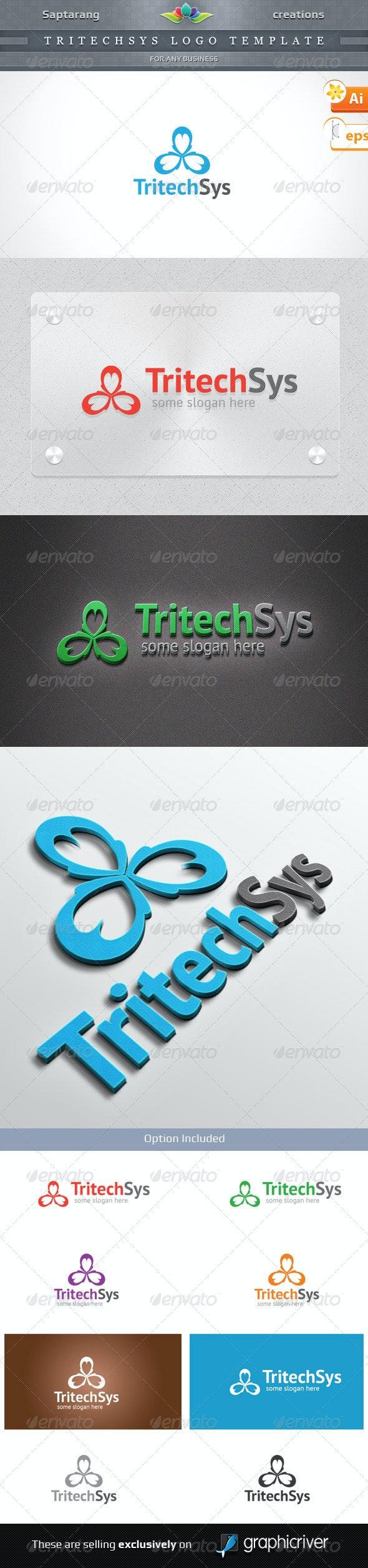 TritechSys Logo template - Symbols Logo Templates