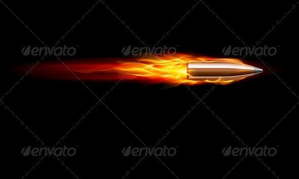 Gun Bullet Shot - Decorative Symbols Decorative
