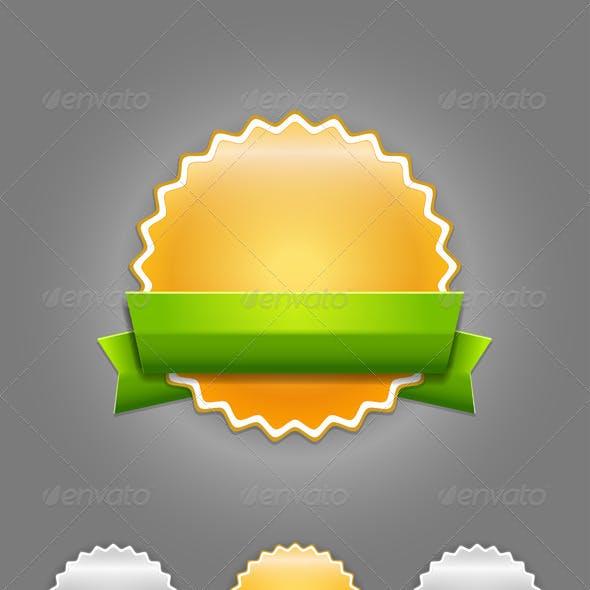 Vector badges