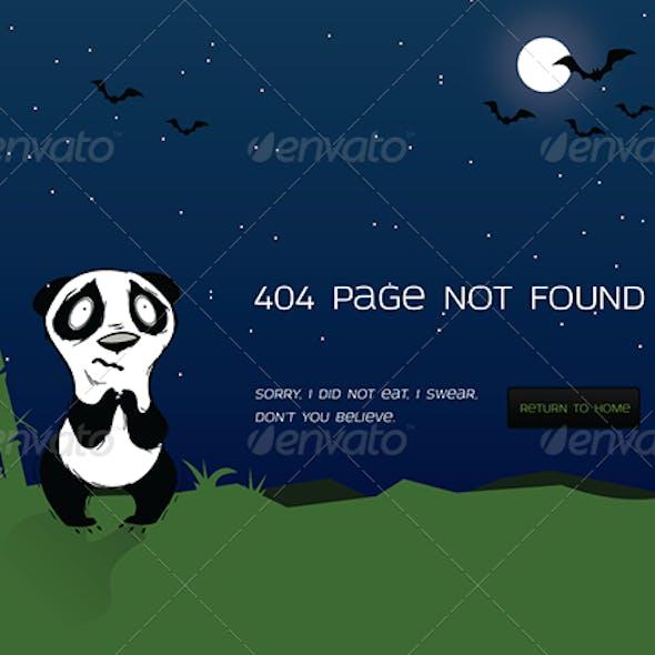 Panda 404 page