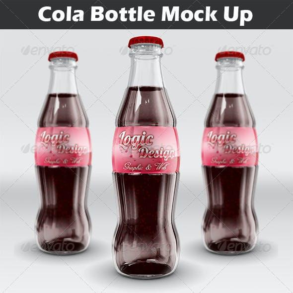 Cola Bottle Mock Up