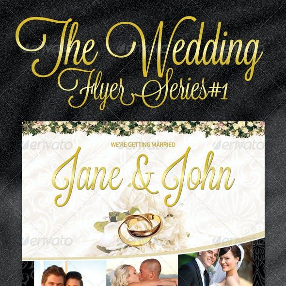 Classy Wedding Flyer