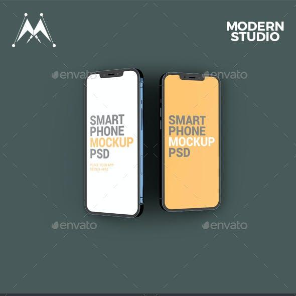iFone 12 Pro and Pro Max Mockup