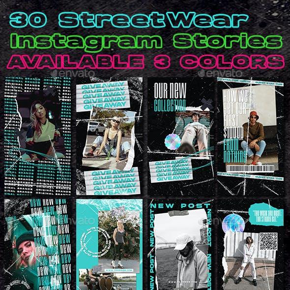 30 Instagram Stories for Streetwear Business