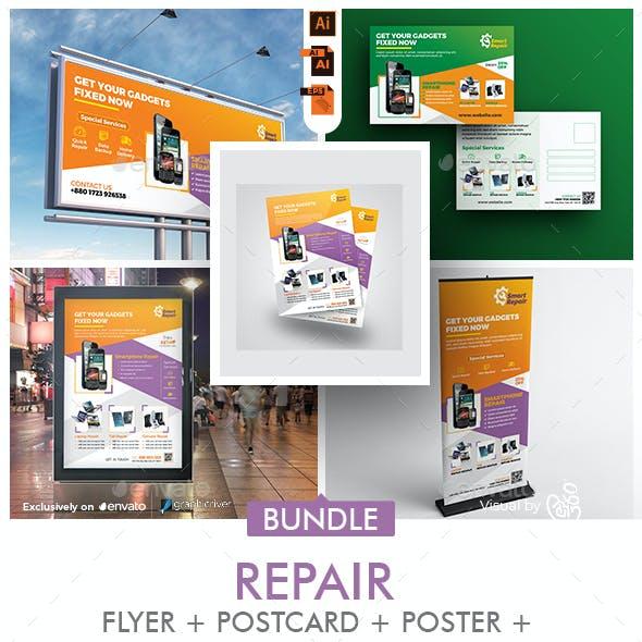 Repair Services Promotional Bundle Templates