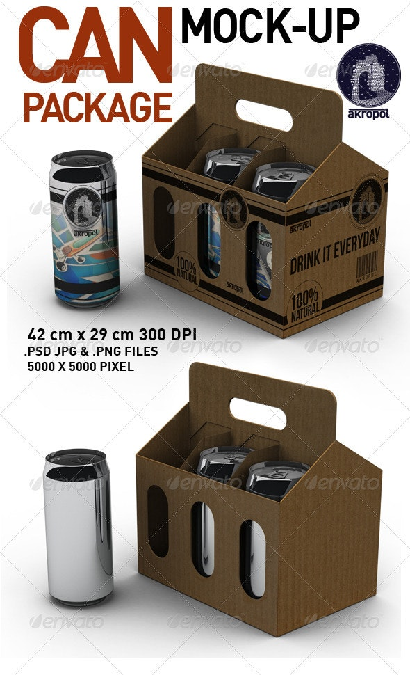 Can Package - Food and Drink Packaging