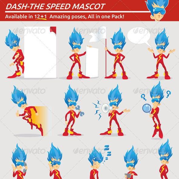 dash - the speed mascot
