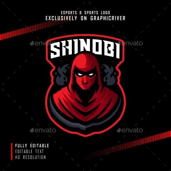 Esports Shinobi Ninja Logo