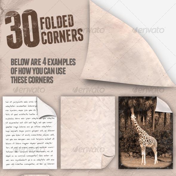 30 Folded Corners