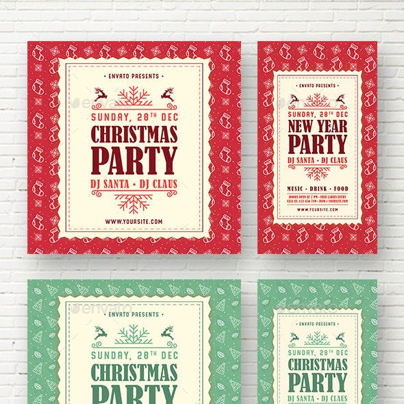 Christmas & New Year Party Template