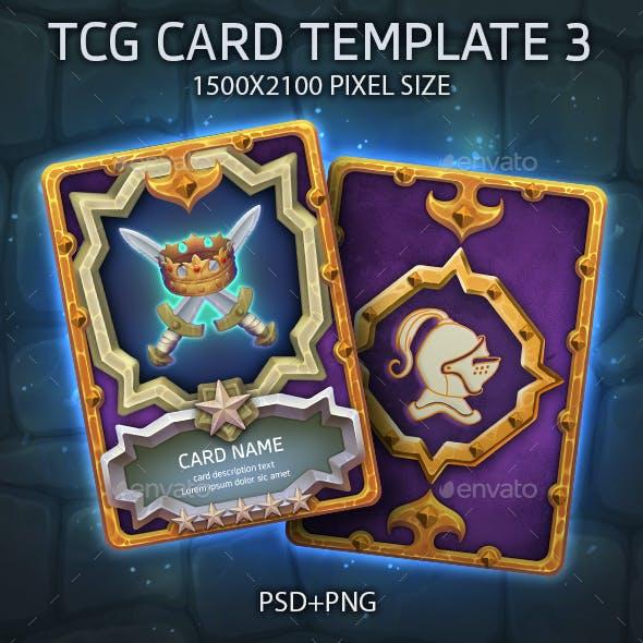 TCG CARD TEMPLATE 3
