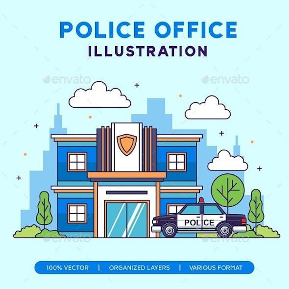 Police Department Illustration