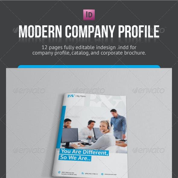 Modern Company Profile