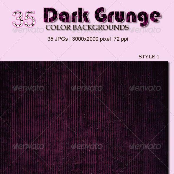 35 Dark Grunge Color Backgrounds