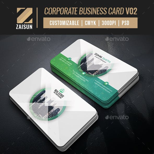 Corporate Business Card V02