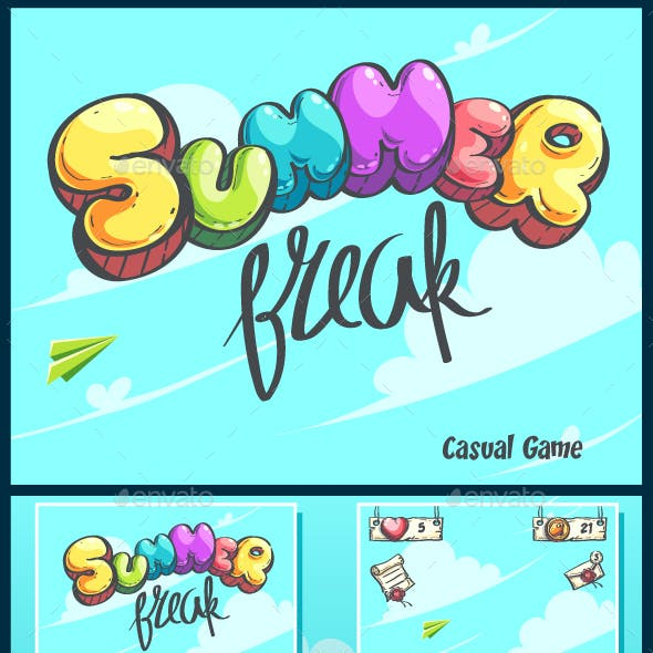 Hello Summer puzzle GUI pack