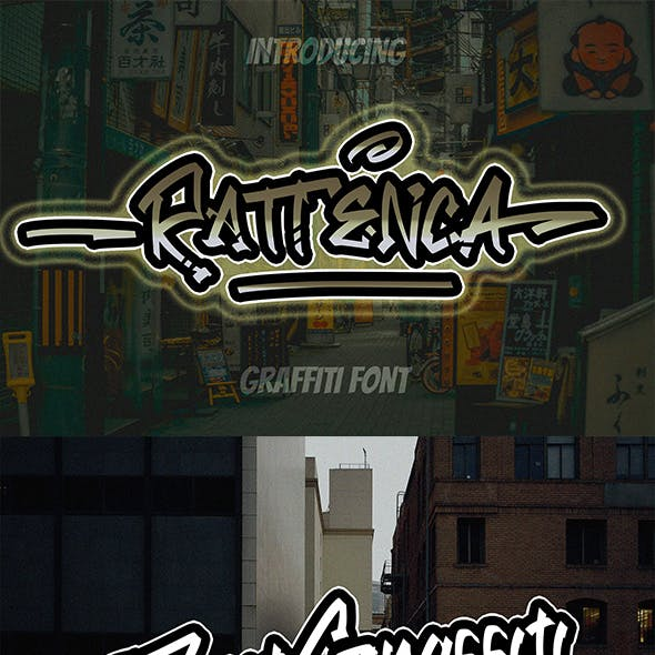 Rattenca - Graffiti Font