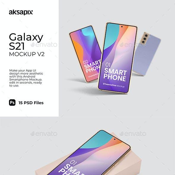Galaxy S21 Mockup v2