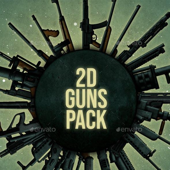 2D Guns Pack