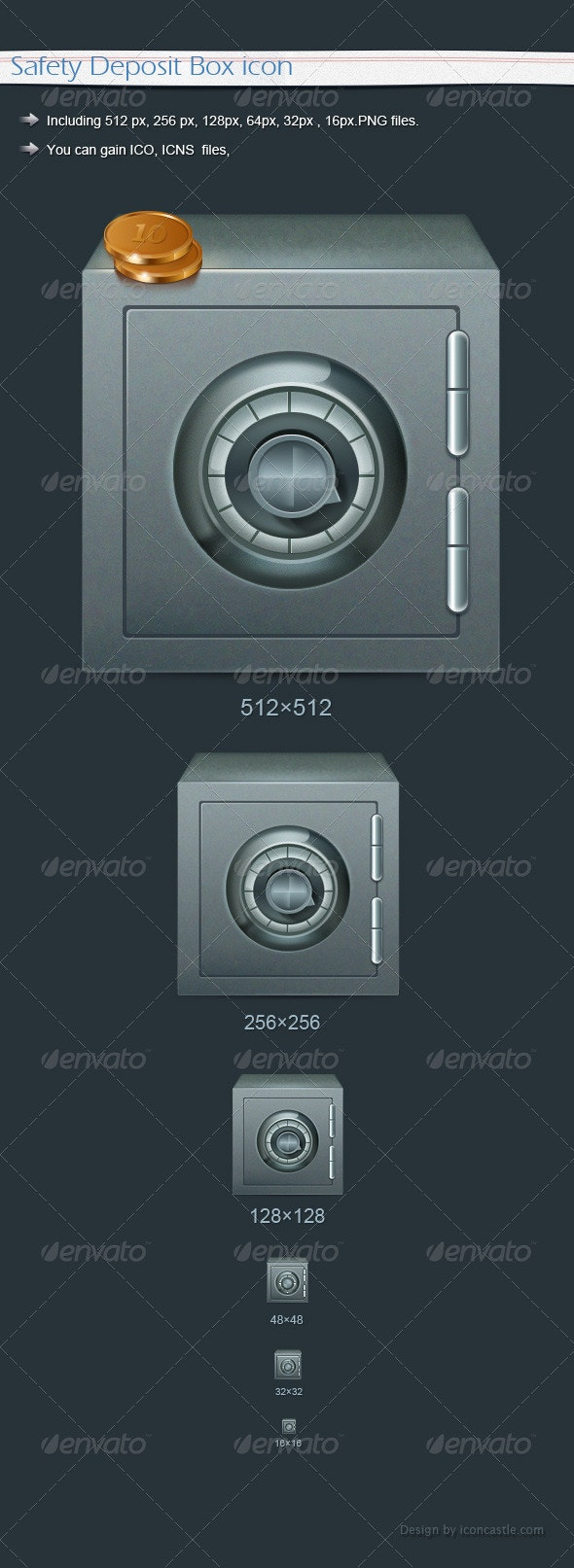 Safety Deposit Box icon - Software Icons