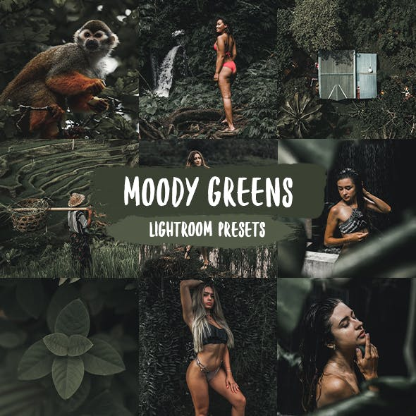 Moody Greens Lightroom Presets