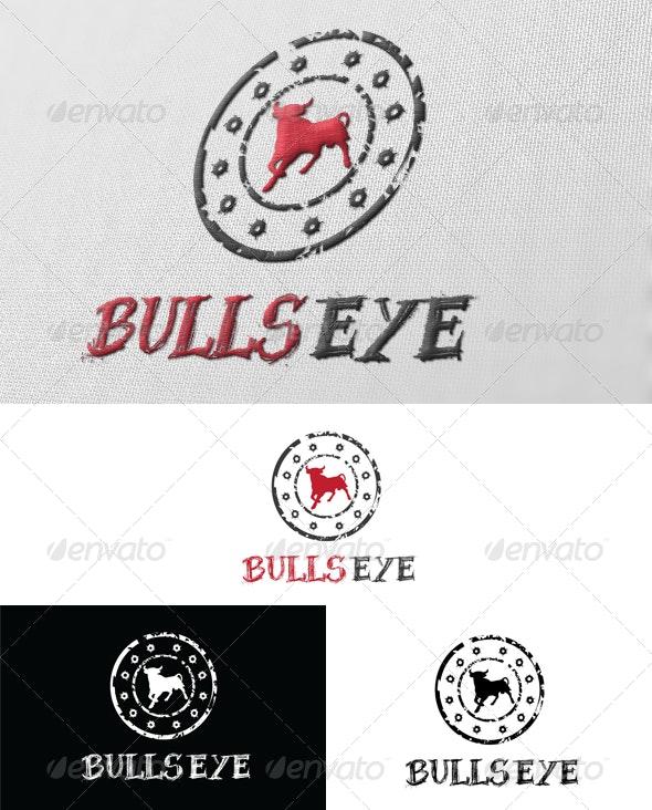 Bulls Eye Logo - Animals Logo Templates