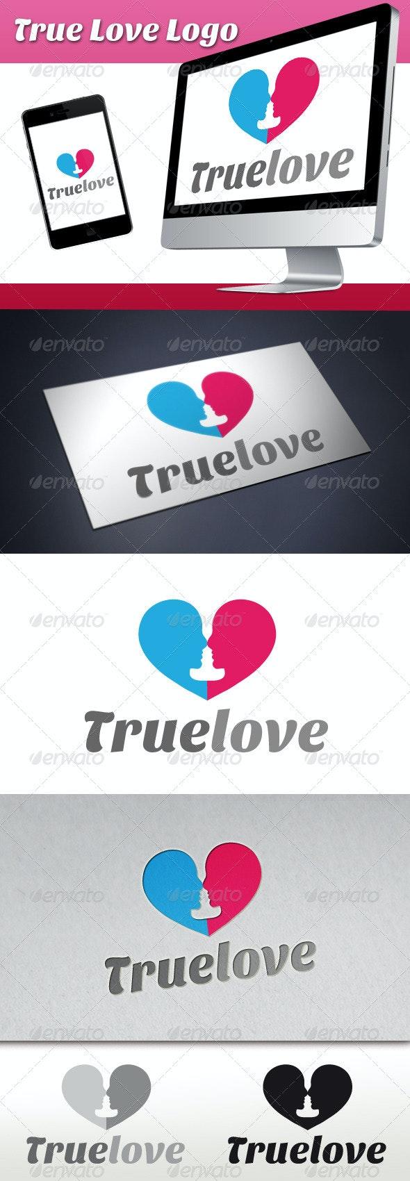 True Love Logo - Humans Logo Templates