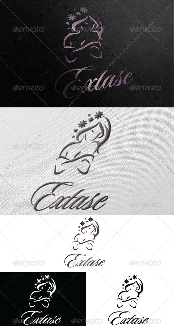 Extase Logo - Humans Logo Templates